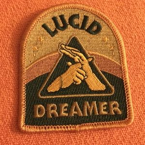 Lucid dreamer iron on spiritual patch